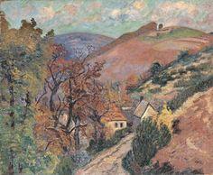 Paysage montagneux 1895