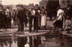Molasses Spill, Blackwall Lane 1920's
