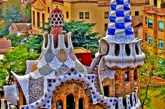 Antoni Gaudi. He was the great outsider of modern architecture. He was likely both an inspired freak and the creator of an emotional, organic style. A supreme artist.