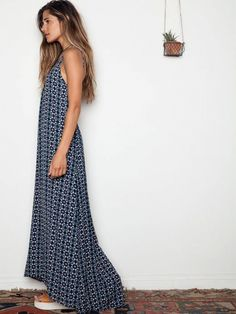 Flynn Skye Scoop Back Maxi Dress