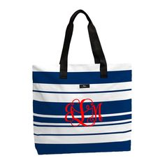 The Navy Knot - Scout by Bungalow Haulin Totes - American Bandstand, $49.00 (http://www.thenavyknot.com/scout-by-bungalow-haulin-totes-american-bandstand/)