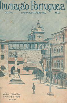 1922 - Ilustração Portuguesa Viseu, Portugal
