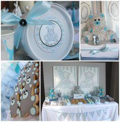 Teddy Bear Tea Party with So Many Really Cute Ideas via Kara's Party Ideas | KarasPartyIdeas.com #TeddyBearBabyShower #TeddyBearParty #Party...