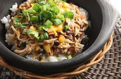 Tasty and super easy. Just needed a little lemon to perfect it. Crock Pot Santa Fe Chicken