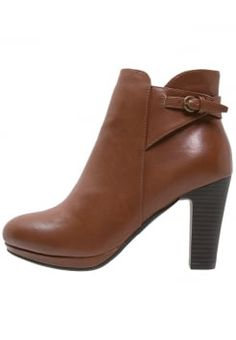 Anna Field High heeled ankle boots - cognac for with free delivery at  Zalando