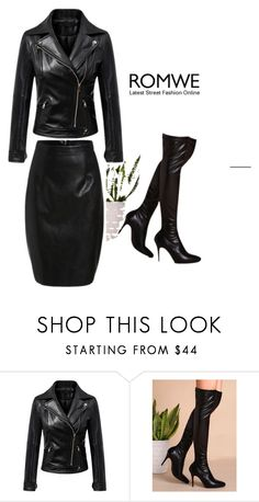 """Romwe #2/1"" by soofficial87 ❤ liked on Polyvore"