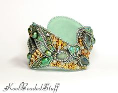 lots of beaded cuffs