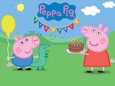 Win family passes to Peppa Pig Playdate! Peppa Pig Happy Birthday, Hello Kitty Birthday, Pig Birthday, Pig Party, Birthday Party Snacks, Peppa Pig Stickers, Peppa Pig Imagenes, Peppa Pig Wallpaper, Papa Pig