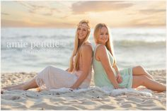 Amie Pendle Photography » blog beach, fashion, woman senior girl portraits sand sunset pink