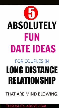 The ultimate list of fun date ideas for a long distance relationship that are mindblowing. Also tips, advice and long distance relationships. #LongDistanceRelationships #FunDateIdeas #DateIdeas