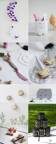 we love Inspiration: DIY-Ideen für Kinder - we love handmade Partys, Diys, Place Cards, Place Card Holders, Inspiration, Awesome Toys, Vintage Tins, Childhood, Creative