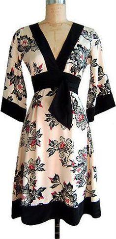 vestido tipo kimono corto - Buscar con Google