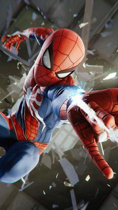 Spider-man (PS4), video game, 2018, 720x1280 wallpaper Marvel Comics, Marvel Vs, Marvel Heroes, Marvel Characters, Fictional Characters, Amazing Spiderman, All Spiderman, Parker Spiderman, Spiderman Suits