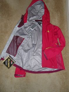 New Adidas Women's Gore Tex Active Shell and Primaloft Sport Insulated Jacket | eBay.  The Perfect Coat.