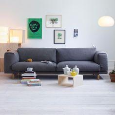 Rest sohva, kolmen istuttava | Muuto Rest | Nojatuolit & Sohvat | Huonekalut | Finnish Design Shop
