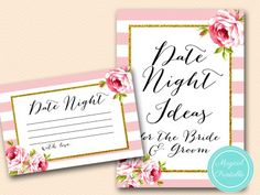 BS11-date-night-idea-sign-pink-floral-bridal-shower-games