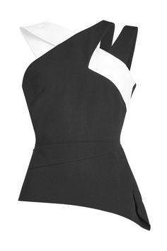 ROLAND MOURET Asymmetric Top. #rolandmouret #cloth #