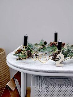 Des bougeoirs déco pour pimper sa table de Noël