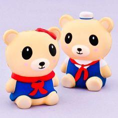 Kawaii Sailor Bear Squishy