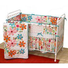 Cotton Tale Lizzie 4 Piece Crib Bedding Set