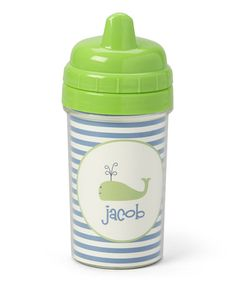 Preppy Whale Personalized Sippy Cup #zulily #zulilyfinds