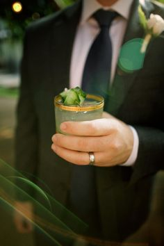 Cheers to love! Wedding cocktail by Garnish - Anna Kim Photography