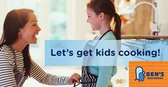 Cook with Your Kids Day encourages families to connect in the kitchen by cooking a healthy meal together then sharing moments with #LookWhatWeMade.