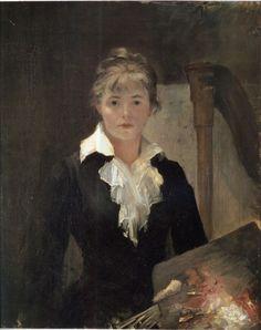Marie Bashkirtseff - Autoportrait 1878