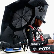 2014 Lucas Oil 225 qualifying: Qualifying washed out, KBM duo in top 10