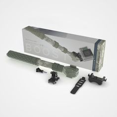 """GoScope® Boost (13""""-26"""") with Remote Holster and 360 deg. Buckle - BRUSH CAMO"""