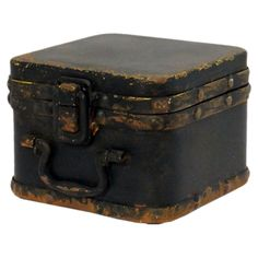 $15.95-Wallingford Storage Box in Black - Wickford Alley on Joss & Main / METAL / 3.5''W X 4.5''D X 4.5''H