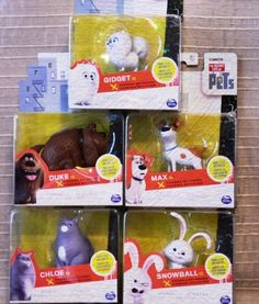 Collect all of The Secret Life of Pets characters and start your own adventure! No batteries required.