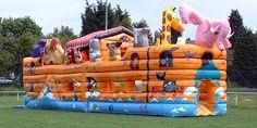 Noah's Ark bouncy castle