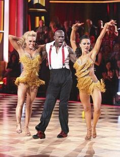 DWTS: Donald Driver's many fans were incensed that his scores weren't higher from the judges on Monday night. Photo: ABC/Adam Taylor.