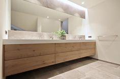 Open Bathroom, Bathroom Vanity Units, Upstairs Bathrooms, Bathroom Renos, Master Bathroom, Cabin Interiors, Bathroom Design Luxury, Beautiful Bathrooms, Solid Surface
