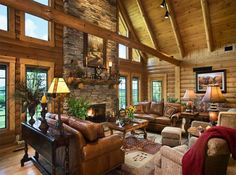Awesome Choices to create your beautiful log cabins in the woods or next to a lake. A must-have to escape from our fast pace life.