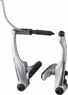 Shimano Deore M590 Linear Pull Brakes For those who prefer the simpler, lighter weight, yet still very powerful braking system. Uses S70C cartridge style brake pads...