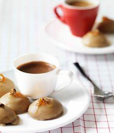 Espresso-glazed biscotti - Gourmet Traveller
