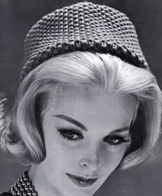 Vintage Knitted Hats on Pinterest