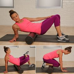 Foam Roller Exercises: Meant for runners, but oh boy, could I use them for dance!