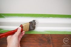 If you are planning to find answers to the question of how to paint baseboard, then you are… The post How to Paint Baseboards appeared first on Don Pedro. Painting Baseboards, Painting Shutters, Painting Trim, Drip Painting, Paint Buckets, Paint Cans, Exterior Trim, Exterior Paint, Home Improvement Loans