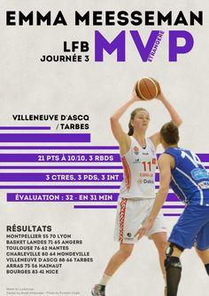 Emma Meesseman - MVP Etrangère - LFB Journée #3