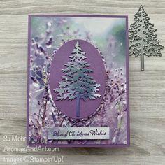 Stampin Up Christmas, Christmas Cards To Make, Christmas Wishes, Xmas Cards, Christmas 2017, Christmas Trees, Stamping Up Cards, Winter Cards, Card Making Inspiration