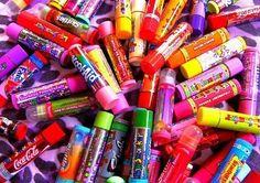 I want all of them I love u Lip smackers