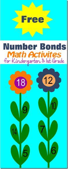 Flower Number Bonds Math