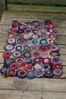 Felted Sweater Rug