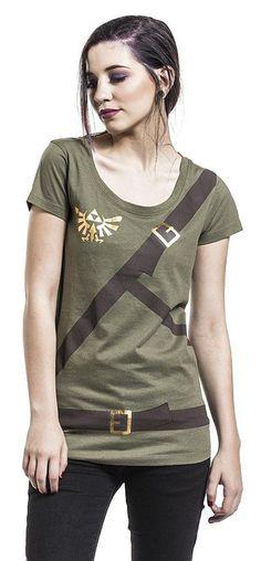 The Legend of Zelda Link Belt T-shirt