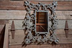 French Country Mirror~Vintage Style Metal Scroll Design #Unbranded #FrenchCountry