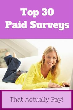 woman taking surveys