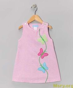 Look what I found on Monday's Child Pink Stripe Butterfly Jumper - Infa. - Look what I found on Monday's Child Pink Stripe Butterfly Jumper - Infa. Toddler Dress, Toddler Outfits, Kids Outfits, Infant Toddler, Toddler Girls, Little Dresses, Little Girl Dresses, Girls Dresses, Toddler Fashion